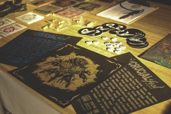 Crucialfest merchandise