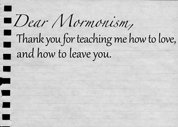 Dear Mormonism