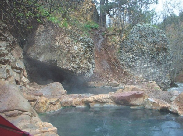 Diamond Fork Hot Springs - JIM CATANO
