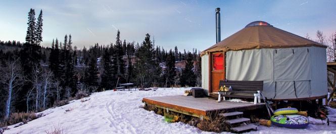 East Fork Yurt - JEFFEJENSEN