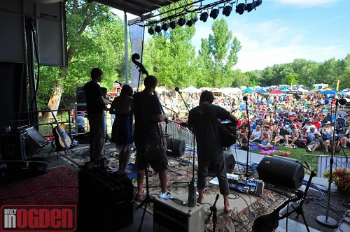 Elephant Revival at Ogden Music Festival 2012 - ONLY IN OGDEN