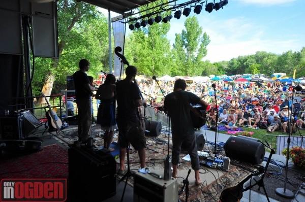 Elephant Revival at Ogden Music Festival 2012 - ONLY IN OGDEN