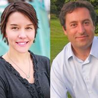 Erin Mendenhall and Kyle LaMalfa