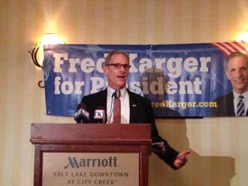 Fred Karger - ERIC S. PETERSON