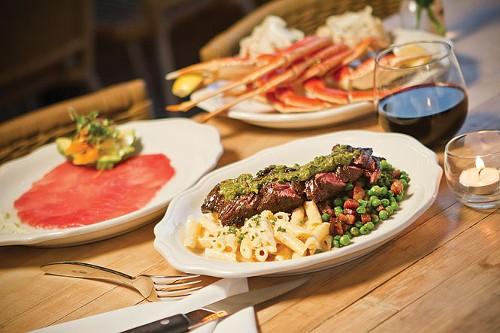 Harbor Seafood & Steak Co.'s Hanger Steak