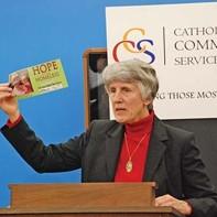 Homeless advocate Pamela Atkinson