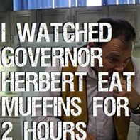 I Watched Governor Herbert Eat Muffins For Two Hours [Video]