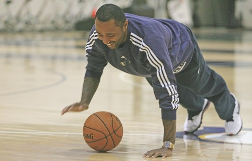 Jazz guard Mo Williams - MELISSA MAJCHRZAK
