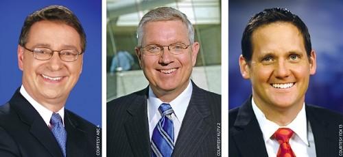 Jim Kosek (ABC 4), Sterling Poulson (KUTV  2), Brett Benson (Fox 13)