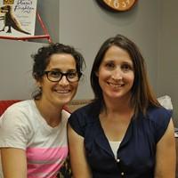 Kristin Hodson and Alisha Worthington