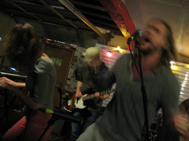 L'anarchiste performing at Kilby - GAVIN SHEEHAN