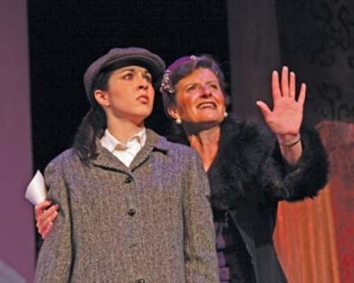 Lauren Noll and Teresa Sanderson in Gypsy