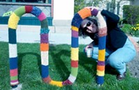 Lisa Sewell: Yarn Bombs