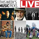 Live: Music Picks July 25-31