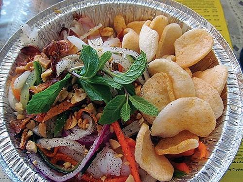 Lotus-stem salad