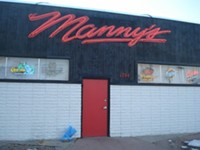 Manny's Bar in downtown Salt Lake City