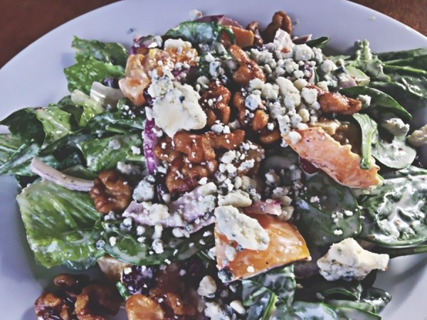 Millcreek Grill & Bar's peach walnut salad - JEFFREY DAVID