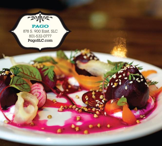 Pago's beet salad - BILLY YANG