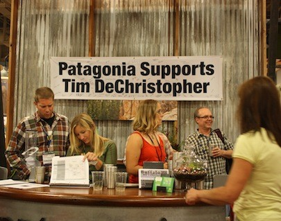 PATAGONIA'S SIGN GOT A LOT OF COMMENT, AND MUCH AGREEMENT - WINA STURGEON