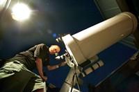 Astronomer Patrick Wiggins