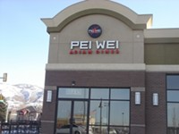 Pei Wei Restaurant in Bountiful