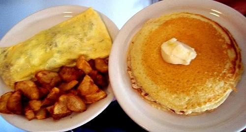 Penny Ann's Denver Omelet & Heavenly Hotcakes