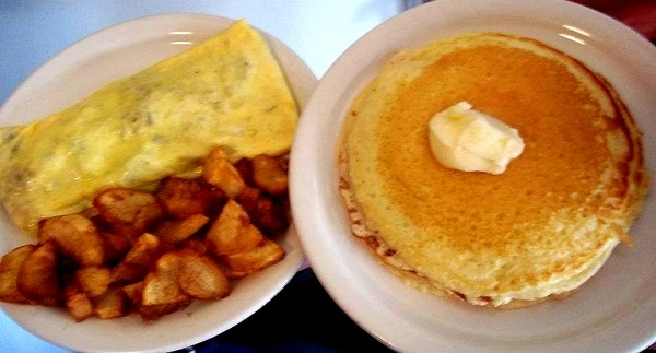 Penny Ann's Denver Omelet & Heavenly Hotcakes