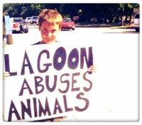 PETA Wants Your Kids to Protest Lagoon
