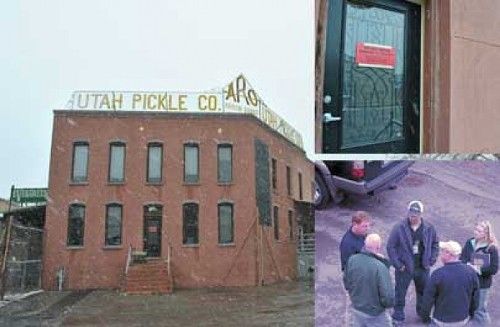 Pickle Factory tenants displaced over operating without business license. - RACHEL PIPER