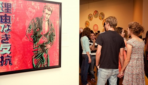 """Rebel Without a Cause"" by Andy Warhol"