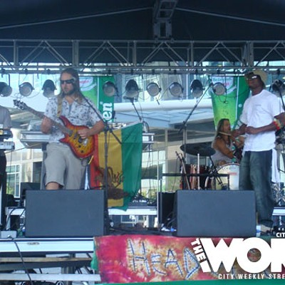 Reggae on the Mountain 7.25.10