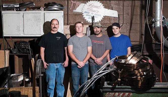 Robert Jensen, Jerry Jensen Jr., Jerry Jensen and Robert Tyler - NIKI CHAN