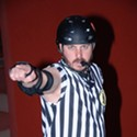 Roller Derby Referee Collin DeShotz