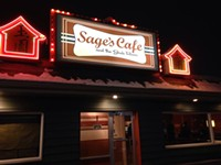 Sage's Cafe and Restaurant in downtown Salt Lake City
