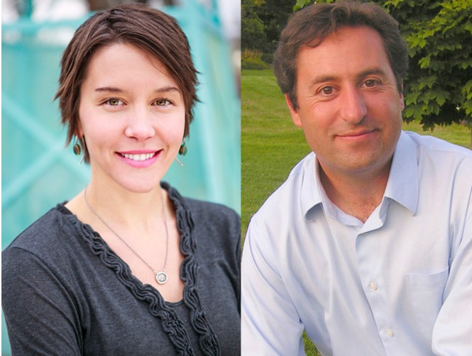 Salt Lake City Council members Erin Mendenhall and Kyle LaMalfa