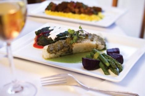 Serrano ham wrapped asparagus - JOHN TAYLOR