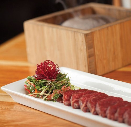 Shabu's Waygu Beef Hot Rock