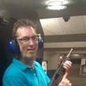 Shooting an UZI in Las Vegas