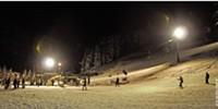 Skiing After Dark