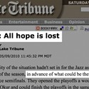 Some Hope Remains for Tribune Sports Section
