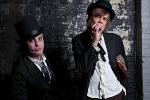 Sylvain Sylvain & David Johanson of New York Dolls