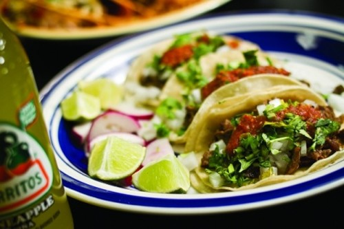 Tacos Guanajuato's asada - JOHN TAYLOR