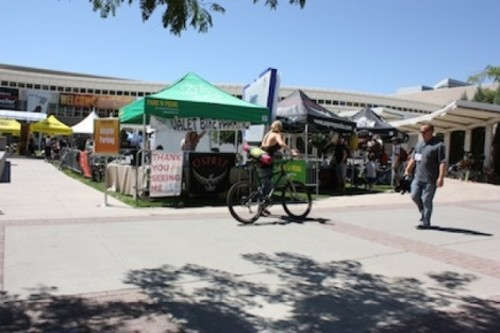 The 2011 Outdoor Retailer Market featured a new area that was open to the public and included a bike valet. - WINA STURGEON