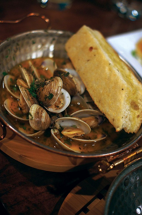 The Brass Tag's oven-steamed clams