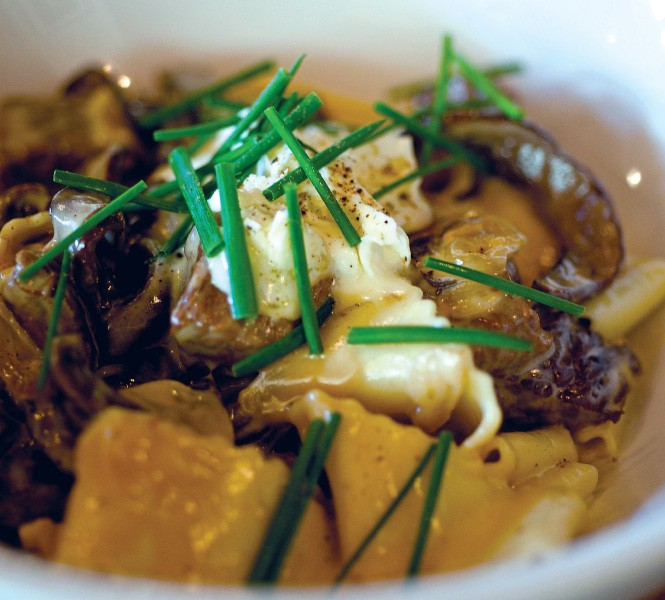 The Copper Onion's beef stroganoff - BILLY YANG