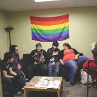 The current WSU LGBT Lounge