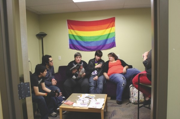The current WSU LGBT Lounge - LAURIE REINER