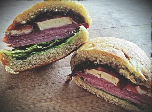 The jammin' jambon sandwich