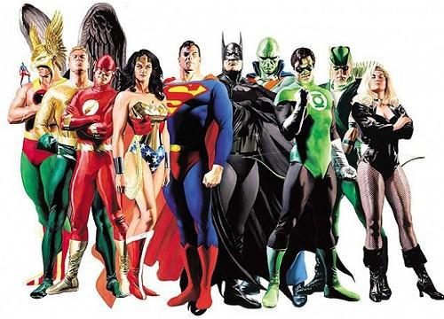The Justice League - DC COMICS