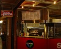 Tram Car Pizza at Snowbird